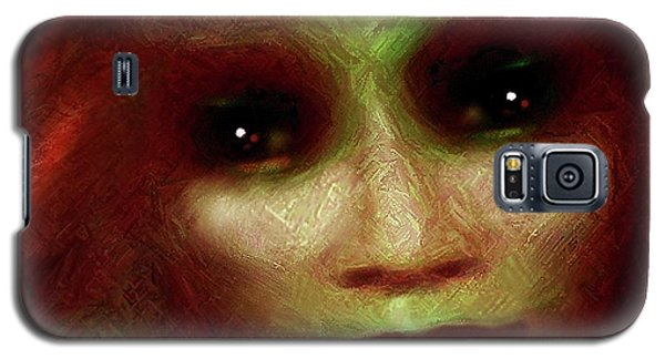 Galaxy S5 Case featuring the painting  Gaia by Hartmut Jager