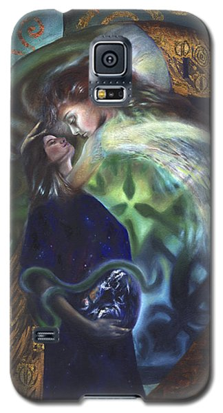 Galaxy S5 Case featuring the painting The Birth Of The World by Ragen Mendenhall