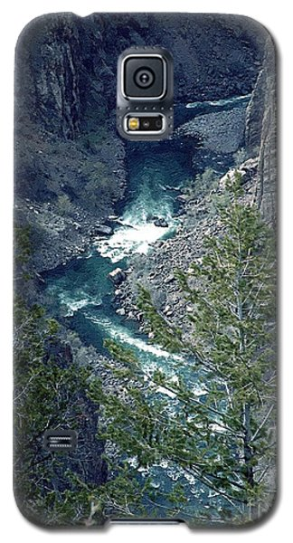 The Black Canyon Of The Gunnison Galaxy S5 Case by RC DeWinter
