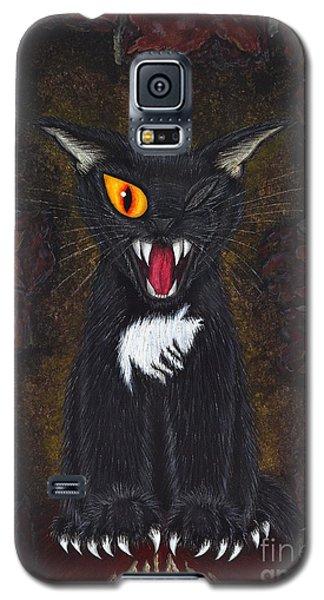 The Black Cat Edgar Allan Poe Galaxy S5 Case