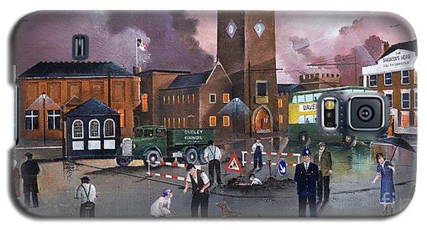 Dudley Trolley Bus Terminus 1950's Galaxy S5 Case