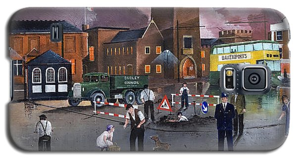 Dudley Trolley Bus Terminus 1950's Galaxy S5 Case