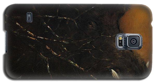 The Black Wildboar Galaxy S5 Case