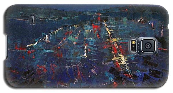The Blue Galaxy S5 Case by Anastasija Kraineva