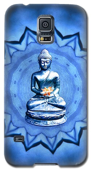 The Blue Buddha Meditation Galaxy S5 Case