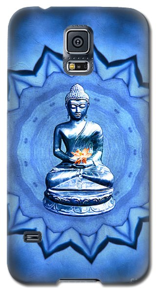 The Blue Buddha Meditation Galaxy S5 Case