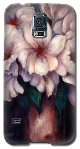 The Blue Flowers Galaxy S5 Case