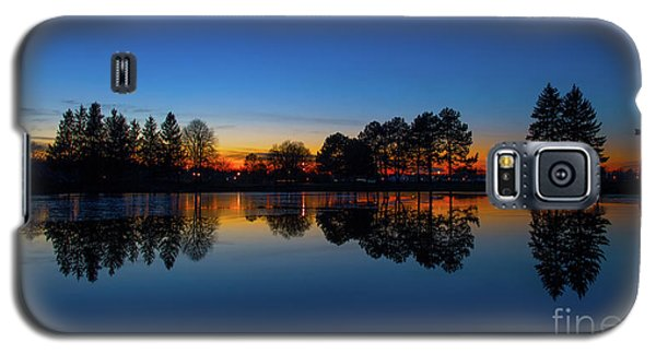 Galaxy S5 Case featuring the photograph The Blue Hour.. by Nina Stavlund