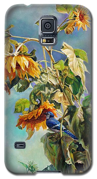 The Blue Jay Who Came To Breakfast Galaxy S5 Case