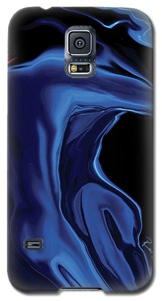The Blue Kiss Galaxy S5 Case by Rabi Khan
