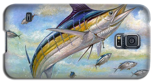 The Blue Marlin Leaping To Eat Galaxy S5 Case