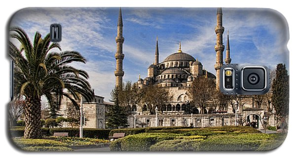 The Blue Mosque In Istanbul Turkey Galaxy S5 Case by David Smith