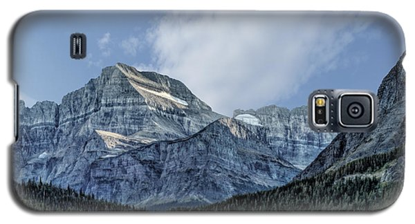 The Blue Mountains Of Glacier National Park Galaxy S5 Case