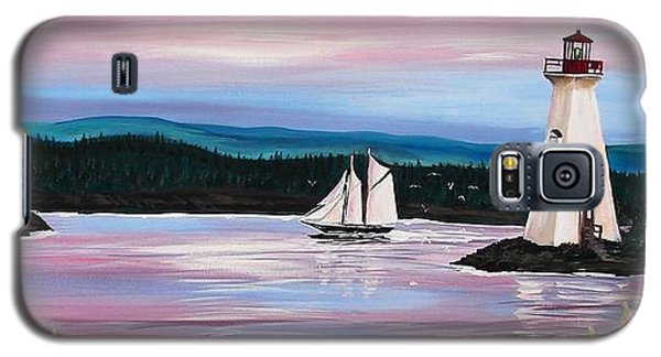 The Blue Nose II At Baddeck Nova Scotia Galaxy S5 Case by Patricia L Davidson