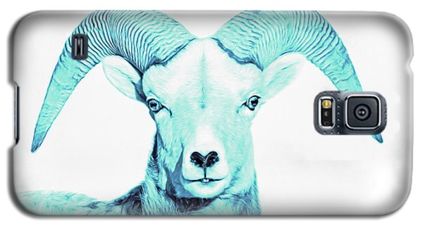 Galaxy S5 Case featuring the photograph The Blue Ram by Jennie Marie Schell