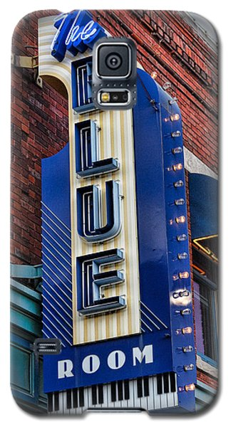The Blue Room Sign Galaxy S5 Case by Steven Bateson