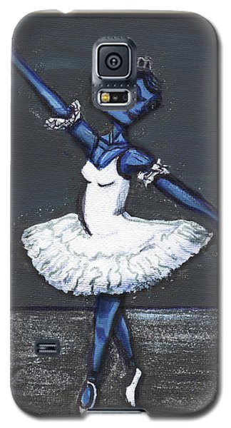 The Blue Swan Galaxy S5 Case by Similar Alien