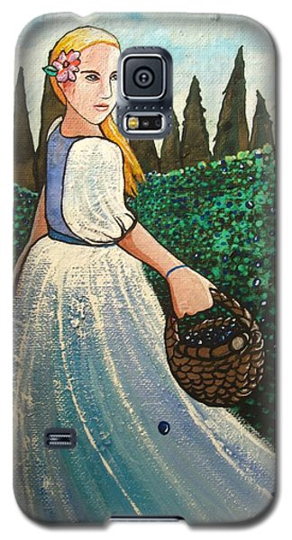 The Blueberry Harvest Galaxy S5 Case