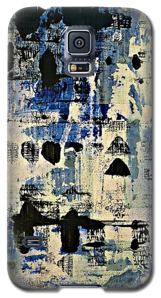 The Blues Abstract Galaxy S5 Case