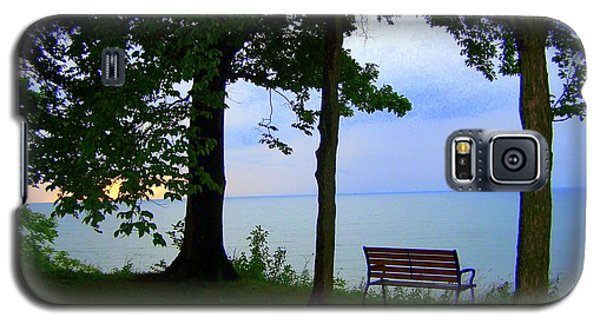 The Bluffs Bench Galaxy S5 Case