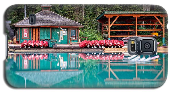 The Boat House At Emerald Lake In Yoho National Park Galaxy S5 Case