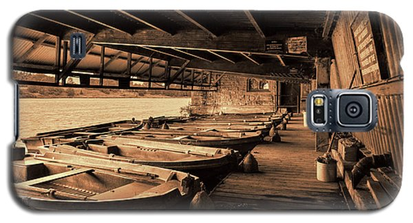 Galaxy S5 Case featuring the photograph The Boat House  by Scott Carruthers