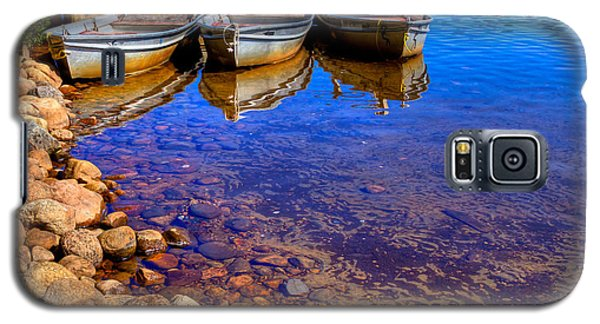 The Boats On White Lake Galaxy S5 Case