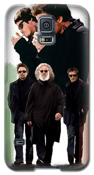 Galaxy S5 Case featuring the painting The Boondock Saints  Redemption by Iconic Images Art Gallery David Pucciarelli