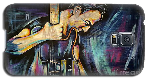 The Boss Bruce Springsteen Galaxy S5 Case by Amy Belonio