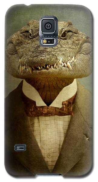Reptiles Galaxy S5 Case - The Boss by Martine Roch