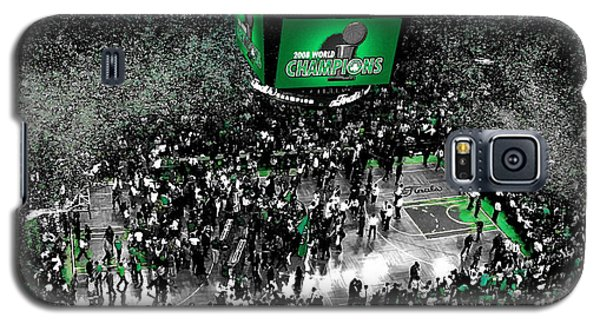 The Boston Celtics 2008 Nba Finals Galaxy S5 Case by Brian Reaves