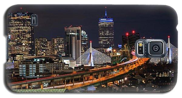The Boston Skyline Boston Ma Full Zakim Galaxy S5 Case