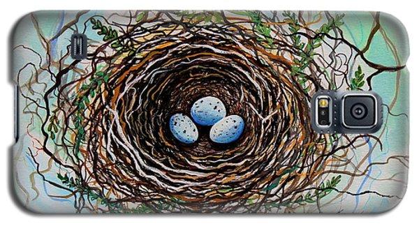 The Botanical Bird Nest Galaxy S5 Case by Elizabeth Robinette Tyndall