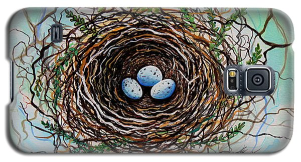 The Botanical Bird Nest Galaxy S5 Case