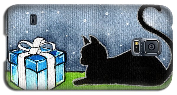 The Box Is Mine - Christmas Cat Galaxy S5 Case