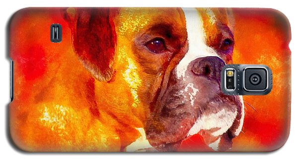 The Boxer Galaxy S5 Case by Maciek Froncisz
