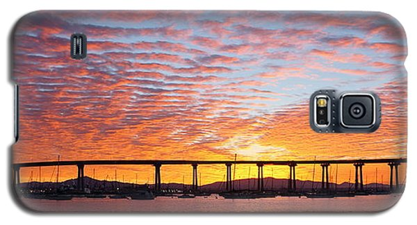 The Break Of Dawn In Coronado Galaxy S5 Case