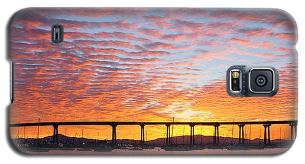 Galaxy S5 Case featuring the photograph The Break Of Dawn In Coronado by Jeremy McKay