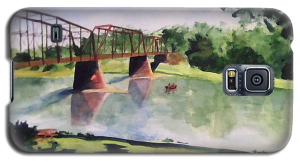 The Bridge At Ft. Benton Galaxy S5 Case