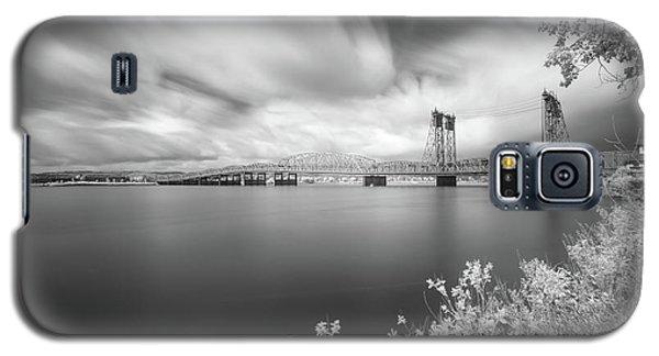 The Bridge Crosses Columbia River Galaxy S5 Case