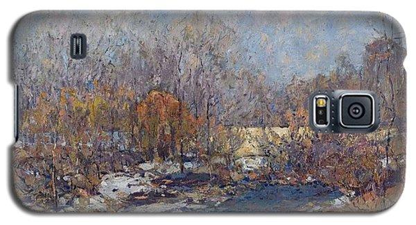 The Bridge  Garfield Park  By William J  Forsyth Galaxy S5 Case
