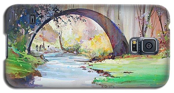 The Bridge Over Brewster Garden Galaxy S5 Case