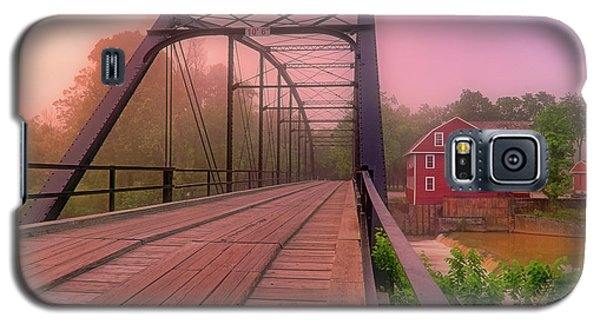 The Bridge To War Eagle Mill - Arkansas - Historic - Sunrise Galaxy S5 Case