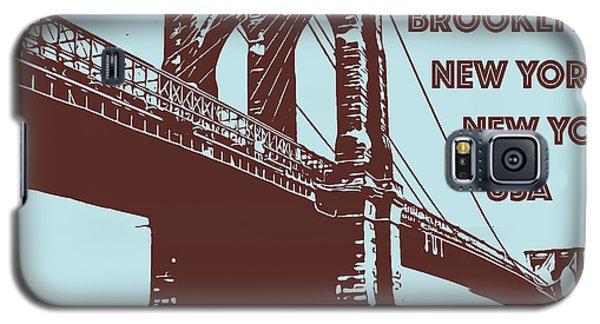 The Brooklyn Bridge, New York, Ny Galaxy S5 Case