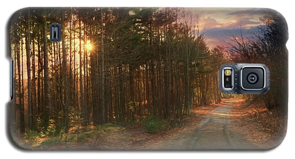 Galaxy S5 Case featuring the photograph The Brown Path Before Me by Lori Deiter