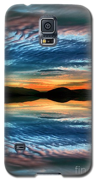 The Brush Strokes Of Evening Galaxy S5 Case