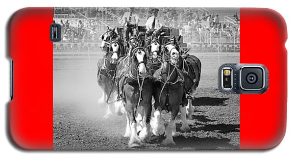 The Budweiser Clydesdales Galaxy S5 Case
