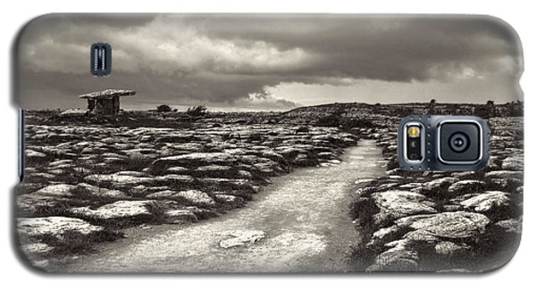 The Burren Ireland With Poulnabrone Dolmen Galaxy S5 Case