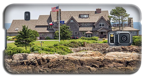 The Bush Compound Kennebunkport Maine Galaxy S5 Case by Brian MacLean
