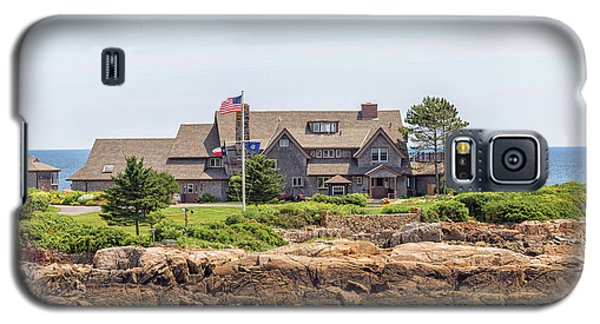 The Bush Family Compound On Walkers Point Galaxy S5 Case by Brian MacLean